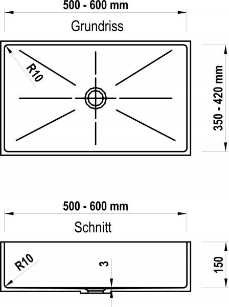 zeichnungen ziebermayr waschtische arbeitsplatten nach ma. Black Bedroom Furniture Sets. Home Design Ideas